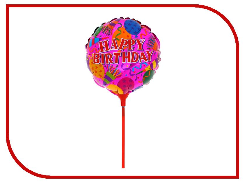 Шар фольгированный СИМА-ЛЕНД С Днем Рождения 1160939 с днем рождения иллюстр