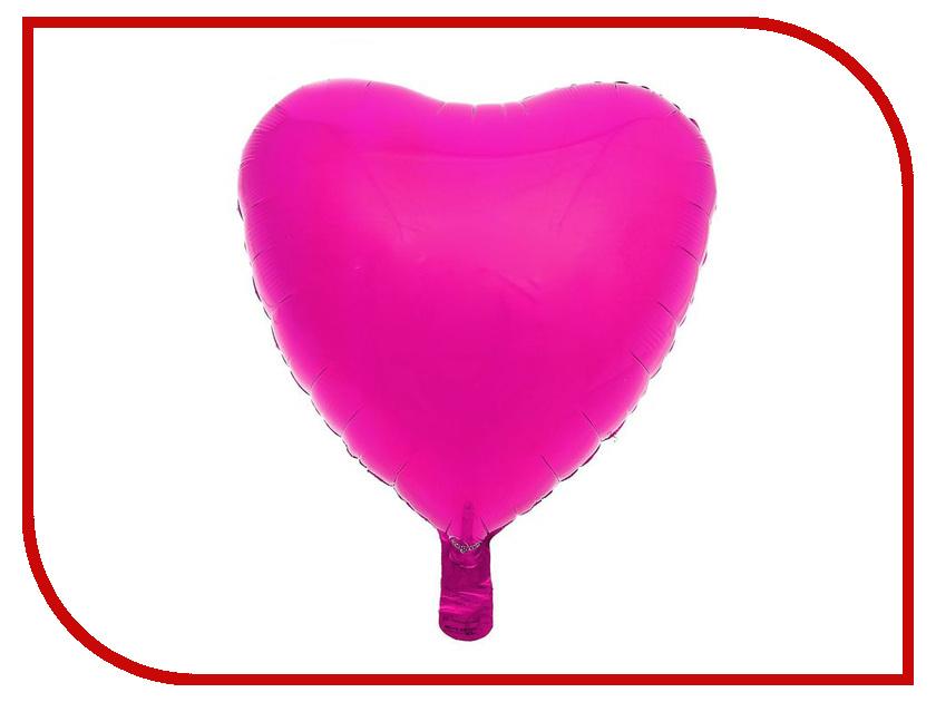Шар фольгированный Anagram Сердце Fuchsia 1352521 джинсы tommy hilfiger tommy hilfiger to263emufo14