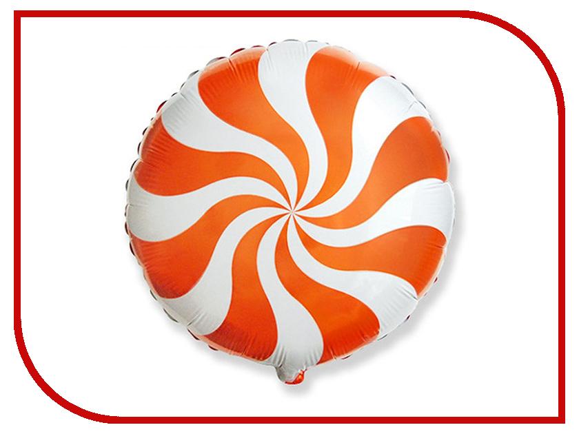Шар фольгированный Flexmetal Конфета Orange 1260881 конфета пластина столичные штучки вкус сезона 55г