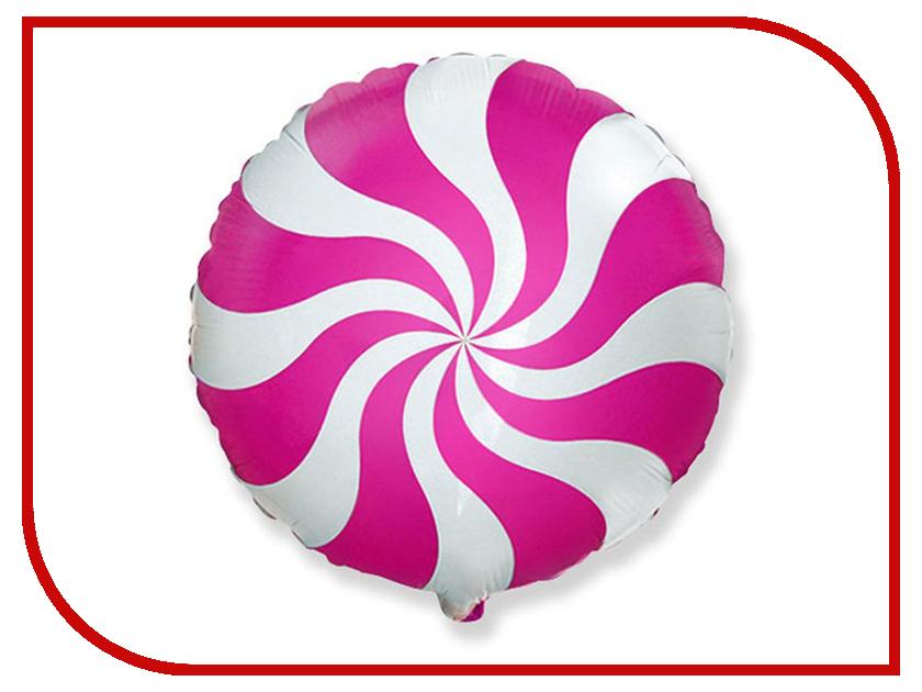 Шар фольгированный Flexmetal Конфета Pink 1260882