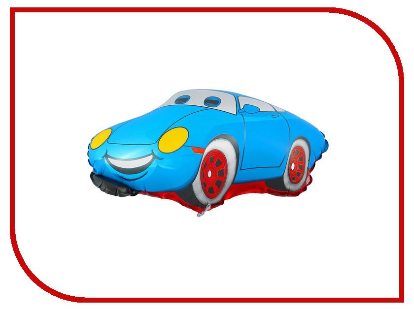 Шар фольгированный Flexmetal Машина Тачка Blue 1230028 коньки onlitop 223f 37 40 blue 806164