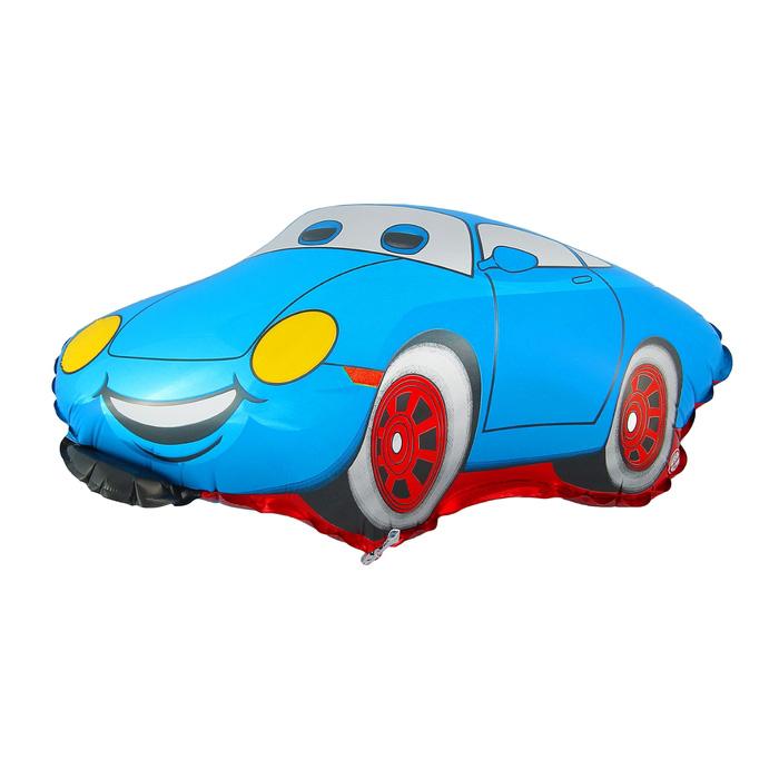 Шар фольгированный Flexmetal Машина Тачка Blue 1230028