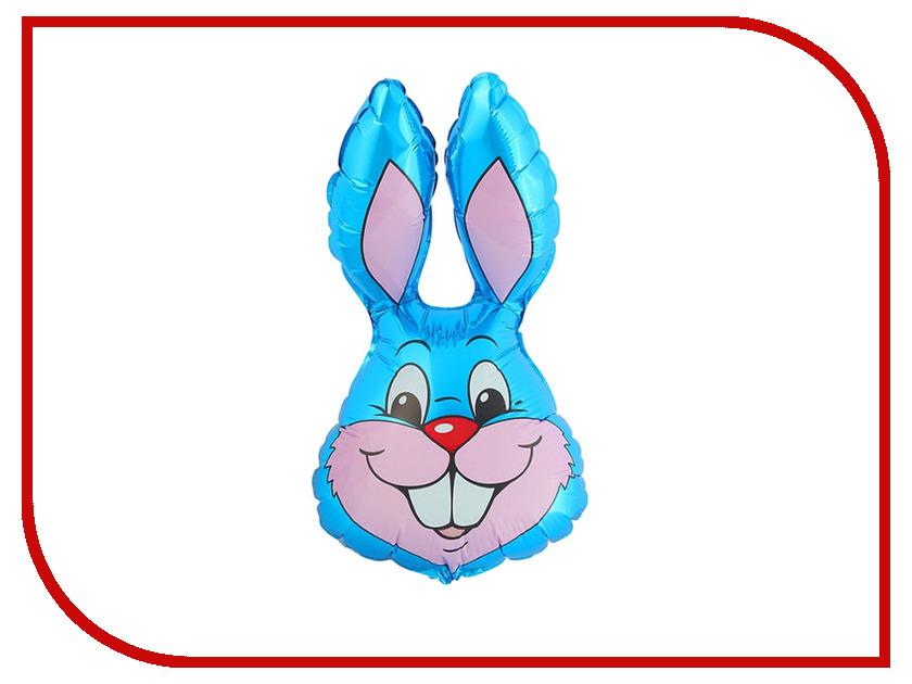Шар фольгированный Flexmetal Кролик Blue 1230013 коньки onlitop 223f 37 40 blue 806164