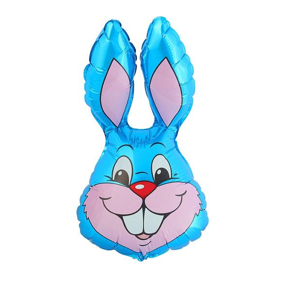 Шар фольгированный Flexmetal Кролик Blue 1230013
