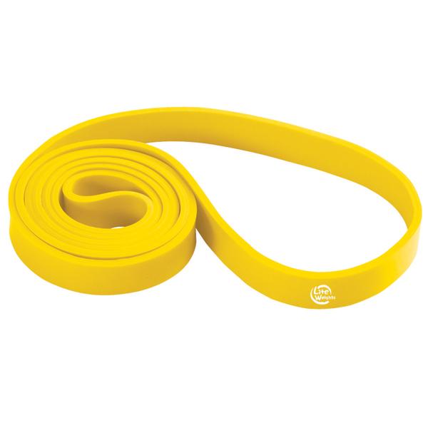 Эспандер Lite Weights 0820LW 208x1.7x0.45cm 20kg Yellow