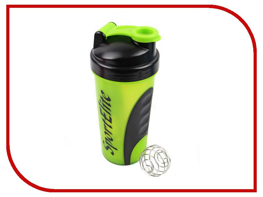 Шейкер Sport Elite SH-110 600ml Light Green-Black ледянка sport elite снеголет пл с322