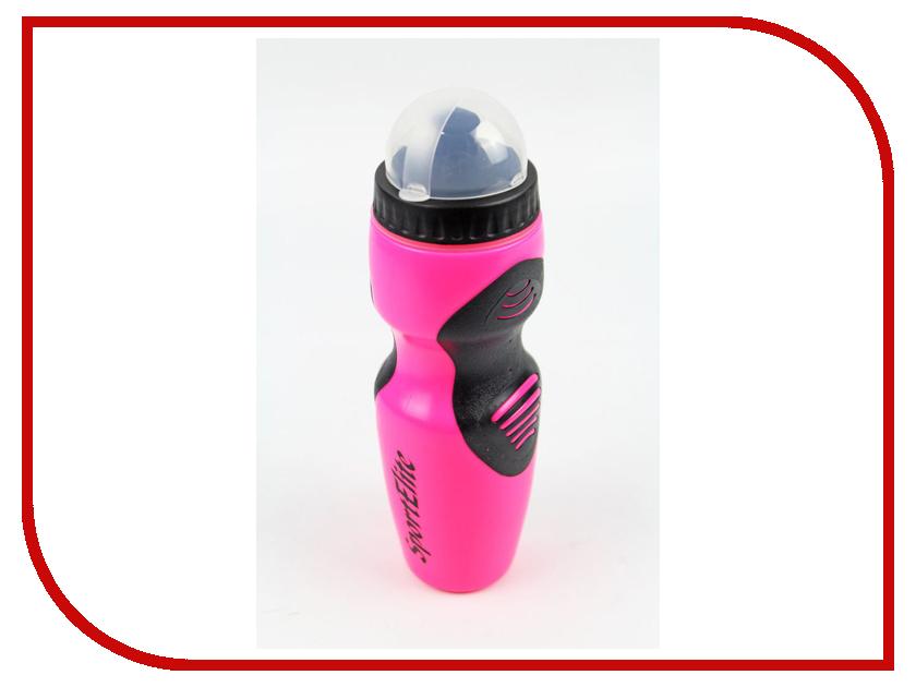 Бутылка Sport Elite B-240 750ml Pink шейкер sport elite sh 120 600ml pink black