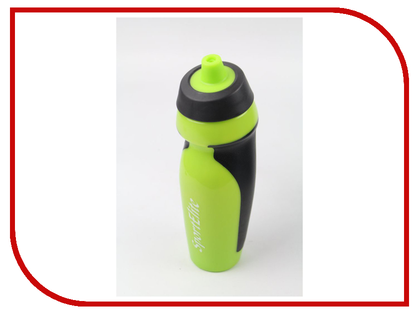 Бутылка Sport Elite B-410 600ml Light Green-Black ледянка sport elite снеголет пл с322