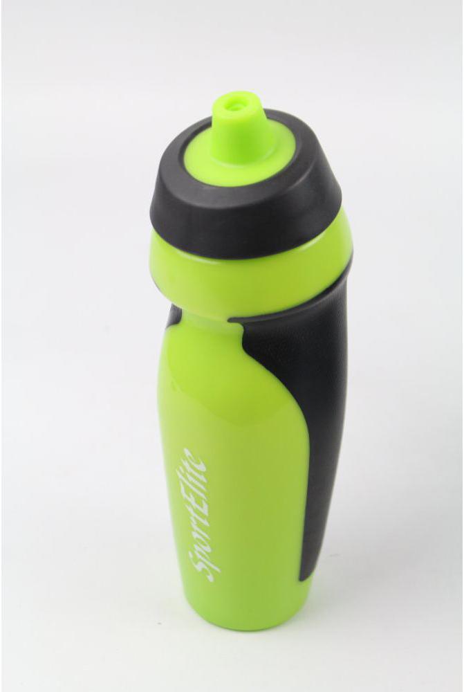 Бутылка Sport Elite B-410 600ml Light Green-Black шейкер sport elite sh 300 850ml black