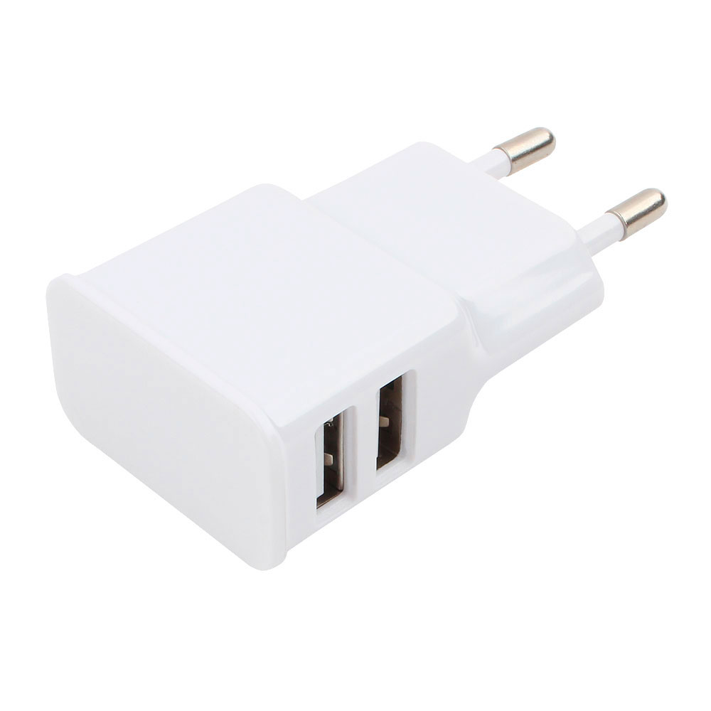 Зарядное устройство Gembird Cablexpert 2xUSB 2.1A MP3A-PC-11 White