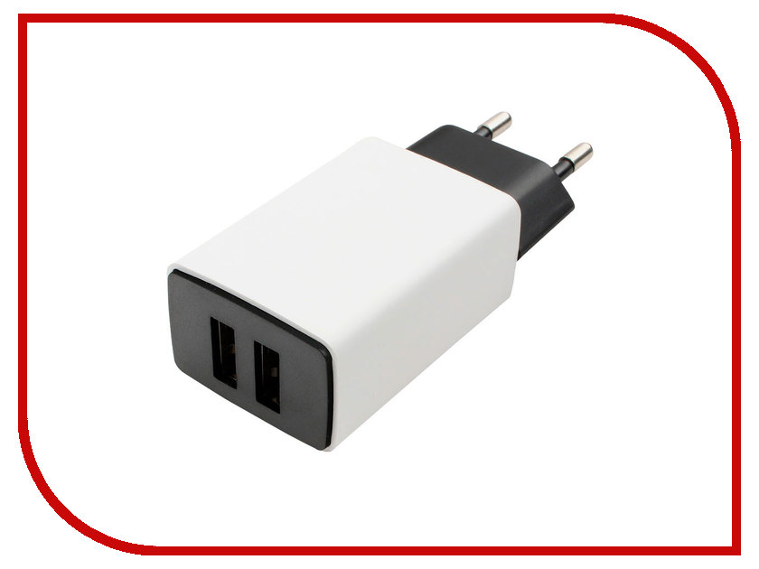 Зарядное устройство Gembird Cablexpert 2xUSB 2.1A MP3A-PC-15 цена