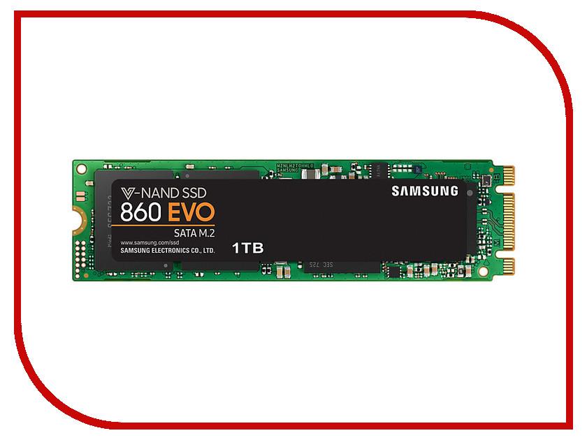 цена на Жесткий диск 1Tb - Samsung 860 EVO M.2 MZ-N6E1T0BW