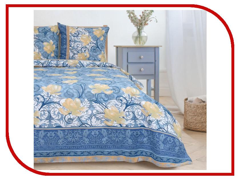 Постельное белье Этель Ирис Комплект Евро Бязь 2877551 ирис спальня