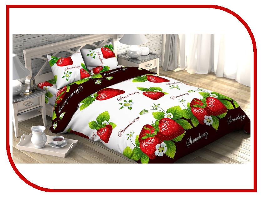 Постельное белье Этель Виктория Комплект Евро Бязь 1090436 постельное белье ecotex постельное белье виктория