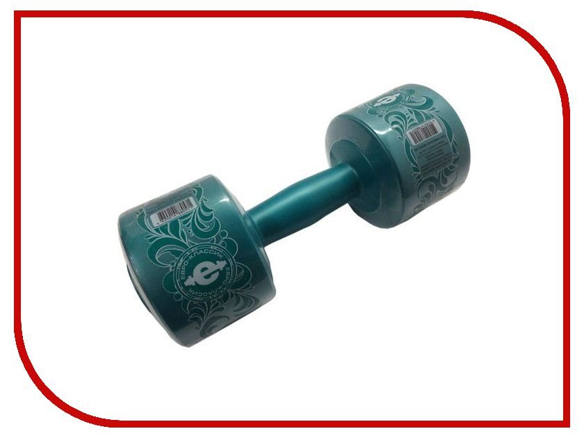 Гантель Euro Classic 3kg Emerald