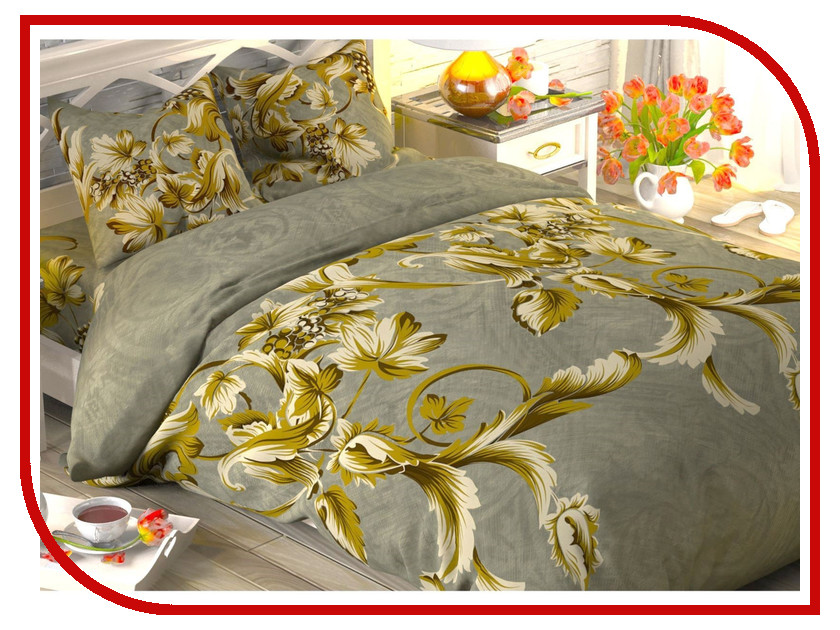 Постельное белье Этель Тоскана Комплект Дуэт Поплин 1444273 постельное белье этель ежевика комплект дуэт поплин 1154371