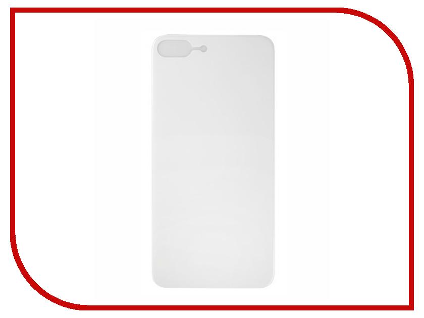 Аксессуар Защитное стекло заднее Partner 9H 3D для iPhone 8 Plus White ПР038502 защитное стекло 3d partner белое 9h для iphone 8 plus iphone 7 plus 0 33 мм пр037716