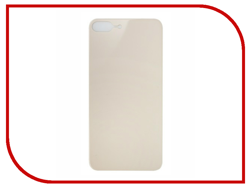 Аксессуар Защитное стекло заднее Partner 9H 3D для iPhone 8 Plus Gold ПР038503 аксессуар аккумулятор lenovo bl210 partner 2000mah пр034367
