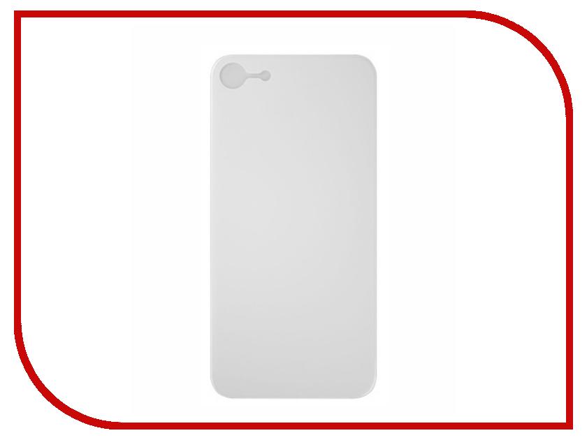 Аксессуар Защитное стекло заднее Partner 9H 3D для iPhone 8 White ПР038506 аксессуар аккумулятор lenovo bl210 partner 2000mah пр034367