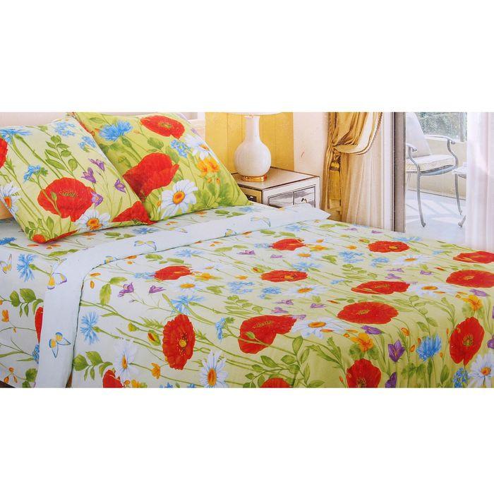 Постельное белье Этель Русское поле Комплект Дуэт спальный Бязь 1292944