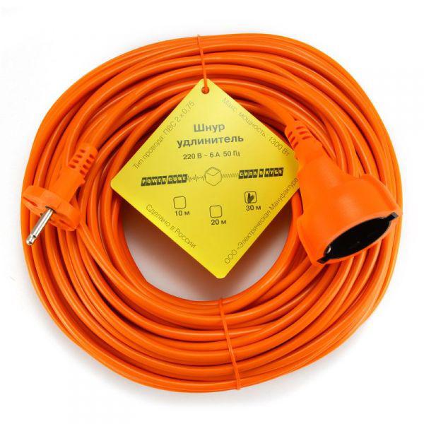 цена на Удлинитель Power Cube 30m Orange PC-E1-B-30