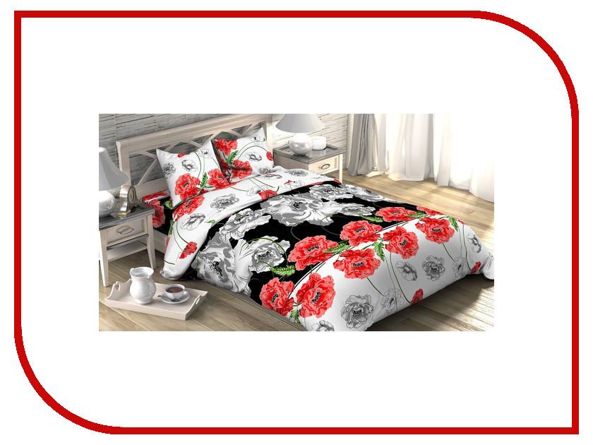 Постельное белье Этель Маки Комплект 1.5 спальный Бязь 1090372 постельное белье этель монстера комплект дуэт поплин 1534708
