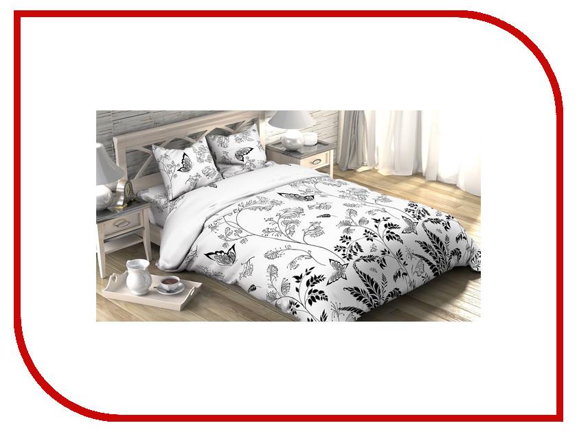 Постельное белье Этель Легкость ночи Комплект 1.5 спальный Бязь 1090380 непоседа постельное белье зайчата 3 пред бязь непоседа желтый