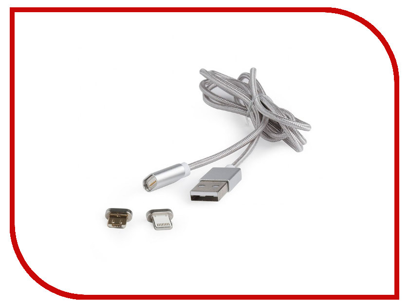 Аксессуар Gembird Cablexpert Pro USB 2.0 AM/microBM 5P to iPhone Lightning 1m CC-USB2-AMLM3-1M кабель usb 2 0 am microbm 1м gembird розовый металлик cc musbr1m