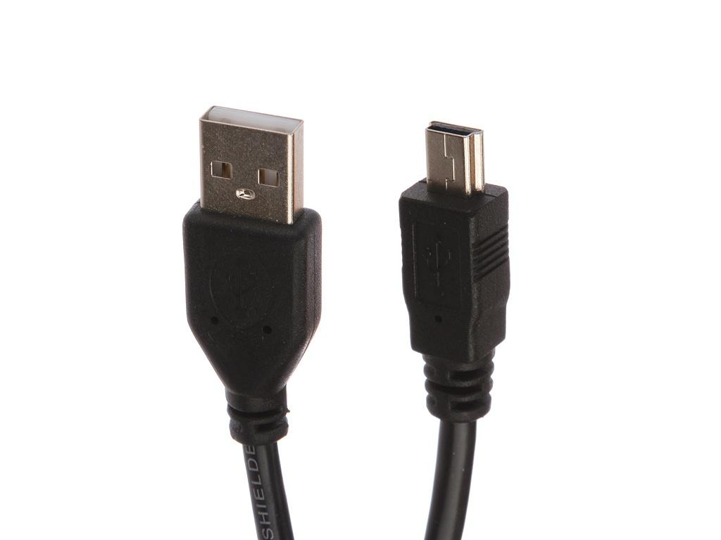 Аксессуар Gembird Cablexpert USB - miniUSB 1.8m CCF-USB2-AM5P-6