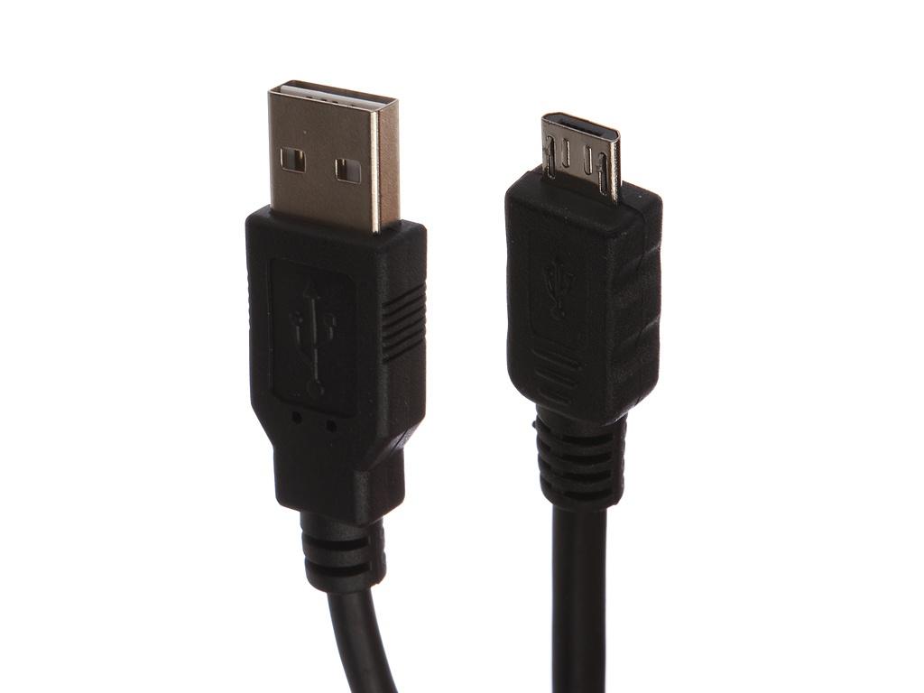 Аксессуар Gembird Cablexpert USB 2.0 - USB A AM/microB 5P 1m CC-mUSB2D-1M кабель usb gembird 2 0 cc musb2d 0 3m 30cм cc musb2d 0 3m