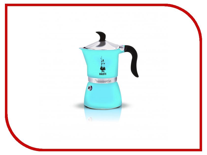 Кофеварка Bialetti Fiametta Light Blue на 3 порции 4632