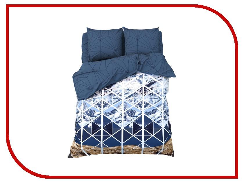 Постельное белье Этель Горные вершины Комплект 1.5 спальный Бязь 2968342 непоседа постельное белье зайчата 3 пред бязь непоседа желтый