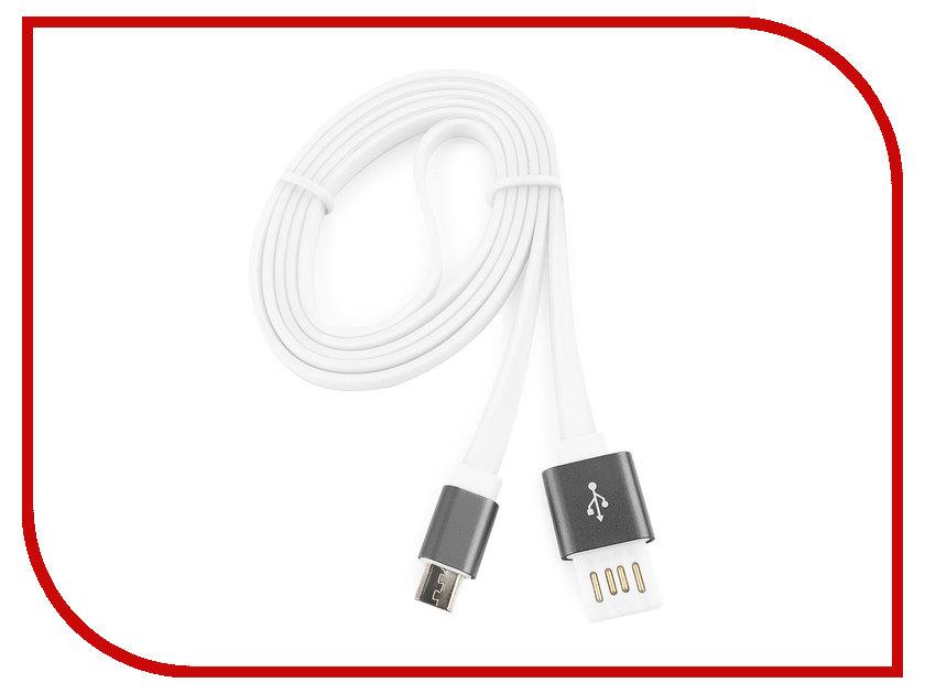 Аксессуар Gembird Cablexpert USB 2.0 AM/microBM 5P 1m Dark Grey CC-mUSBgy1m аксессуар gembird cablexpert usb 2 0 am microbm 5p 1m violet cc musbp1m