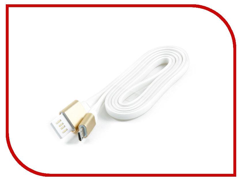 Аксессуар Gembird Cablexpert USB 2.0 AM/microBM 5P 1m Gold CC-mUSBgd1m кабель usb 2 0 am microbm 1м gembird золотистый металлик cc musbgd1m page 8