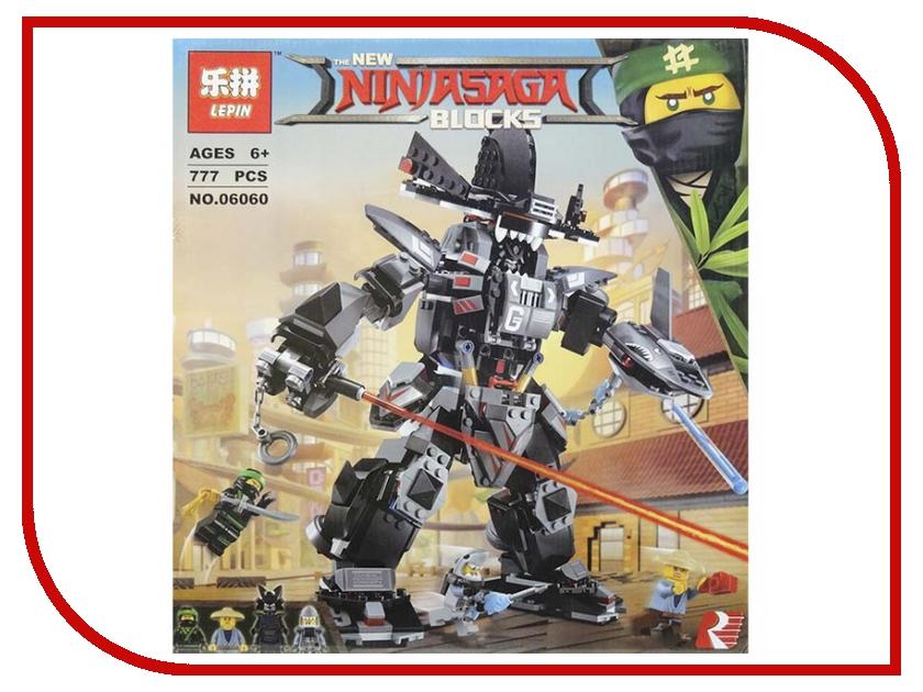 Конструктор Lepin Ninjasaga Робот Гарм 777 дет. 06060 конструктор sy ninja movie водяной робот 748 дет sy928
