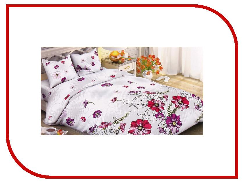 Постельное белье Этель Полевые маки Комплект 2 спальный Поплин 1534718