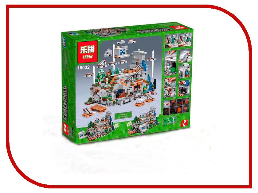 Конструкторы Горная пещера  Конструктор Lepin CubeWorld Горная пещера 3043 дет. 18032