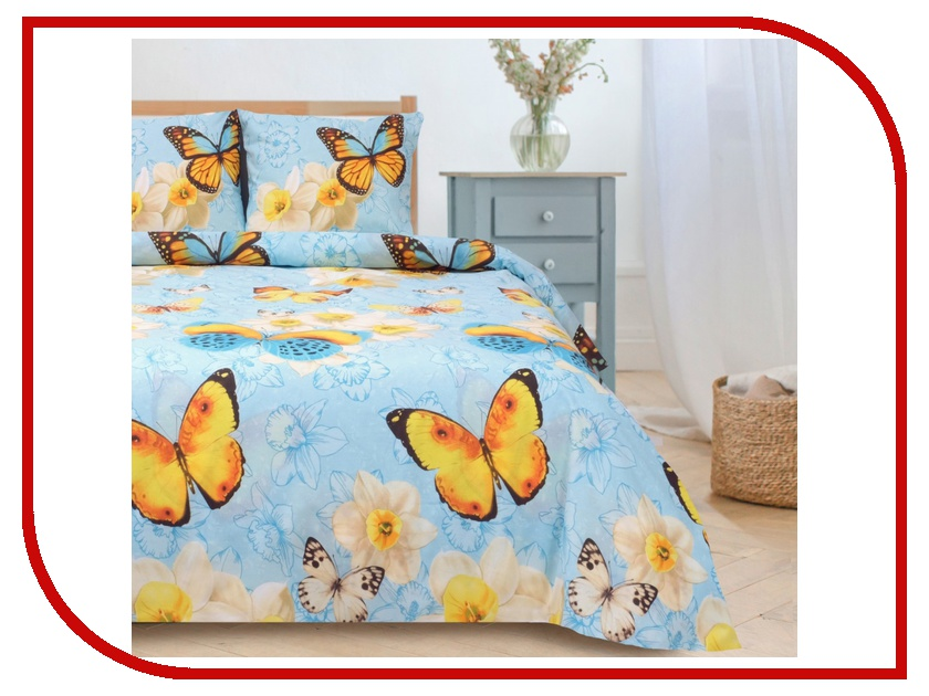 Постельное белье Этель Весна Комплект 2 спальный Поплин 1089509