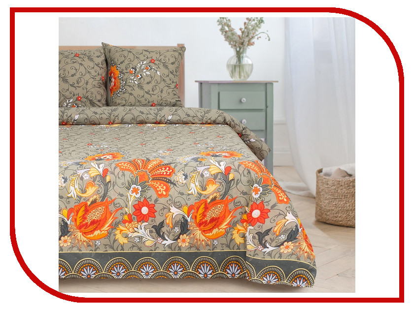 Постельное белье Этель Комильфо Комплект 1.5 спальный Поплин 1089489 постельное белье этель зеленый сад комплект 1 5 спальный поплин 1534721
