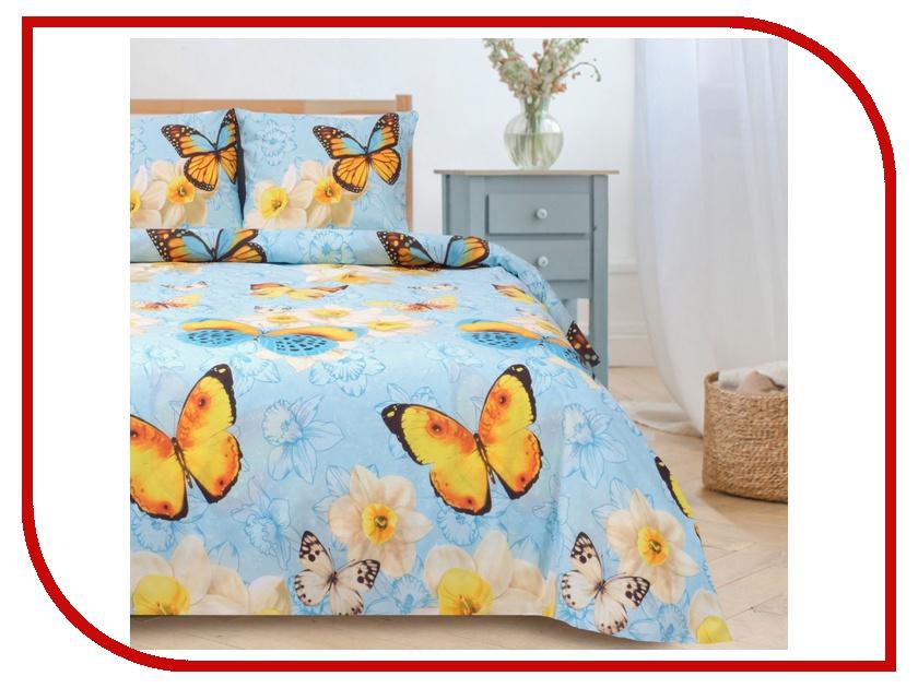 Постельное белье Этель Весна Комплект 1.5 спальный Поплин 1089493 постельное белье этель зеленый сад комплект 1 5 спальный поплин 1534721