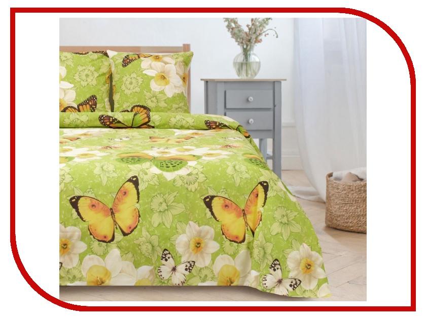Постельное белье Этель Весна вид 2 Комплект 1.5 спальный Поплин 1089494