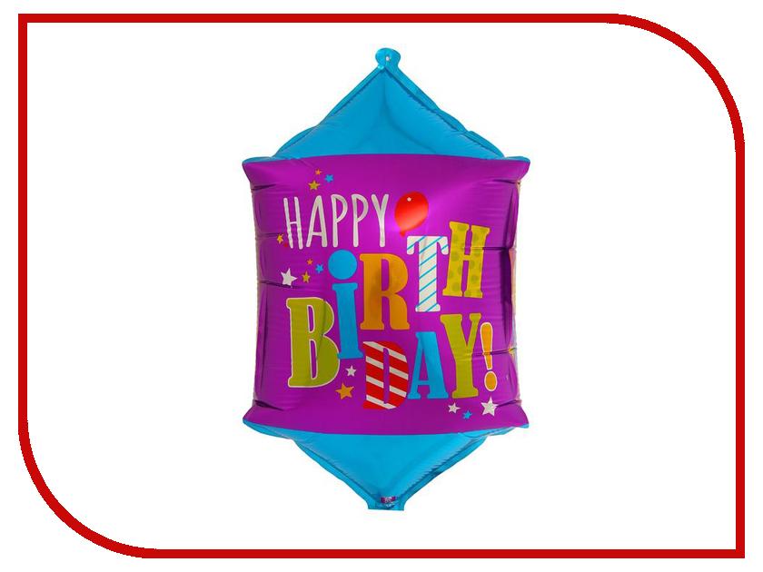 Шар фольгированный СИМА-ЛЕНД С Днем Рождения 1230371 с днем рождения иллюстр