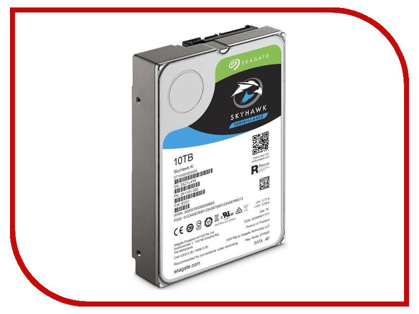 Жесткий диск 10Tb - Seagate SkyHawk AI ST10000VE0004 ia ai
