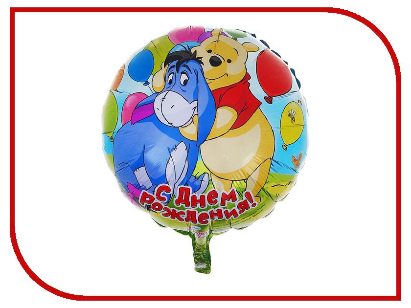 Шар фольгированный Disney С Днем рождения 1177952 disney гирлянда детская резная с подвесками с днем рождения тачки 200 см
