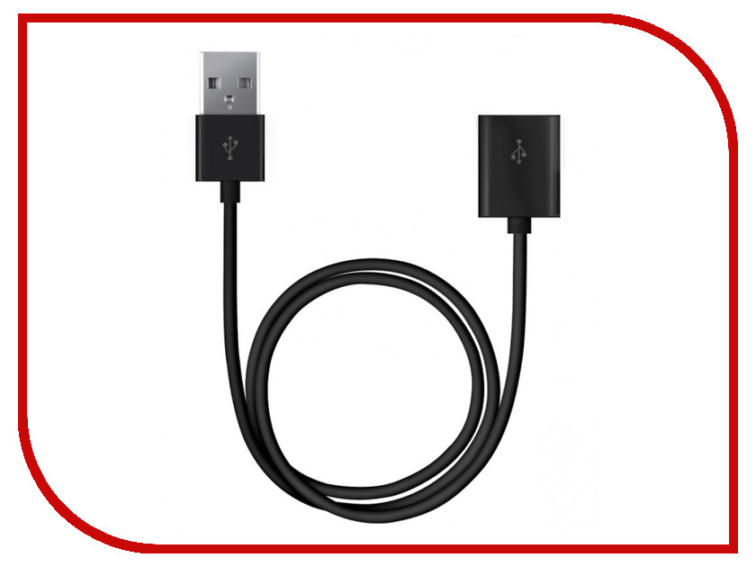 Аксессуар Deppa USB 1.8m Black 72107
