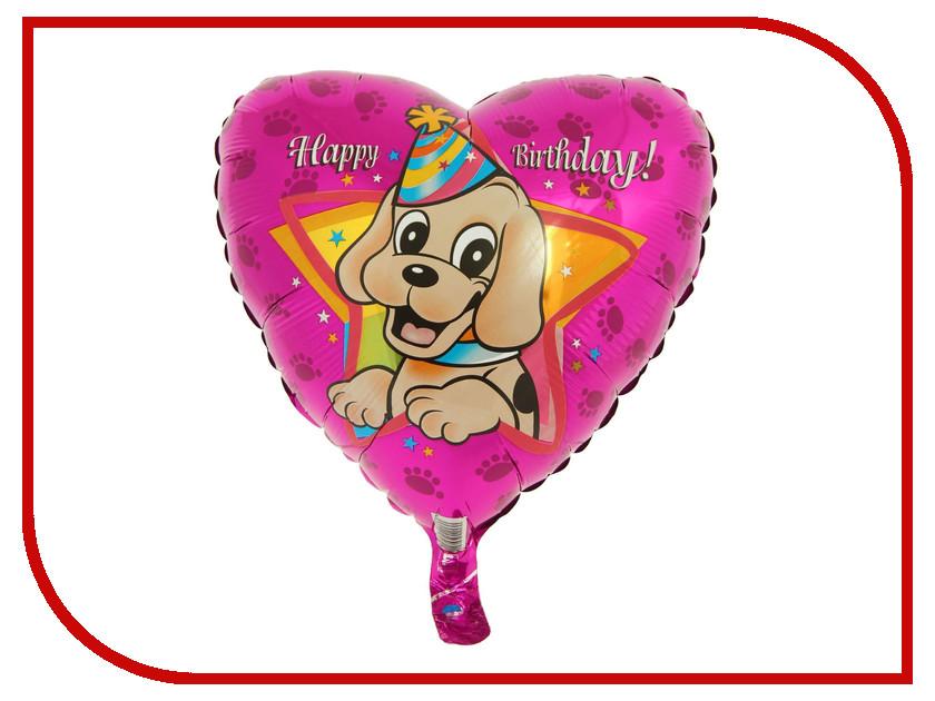 Фото Шар фольгированный Flexmetal Happy Birthday Щенок в колпаке 1246890