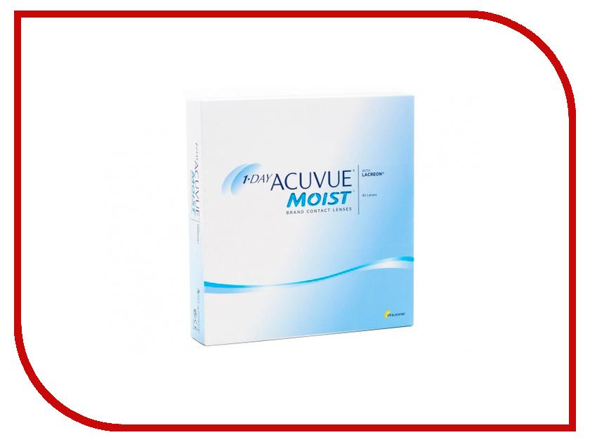Контактные линзы Johnson & Johnson 1-Day Acuvue Moist (90 линз / 8.5 / -4.5) контактные линзы johnson & johnson 1 day acuvue moist 90 линз 8 5 4 25