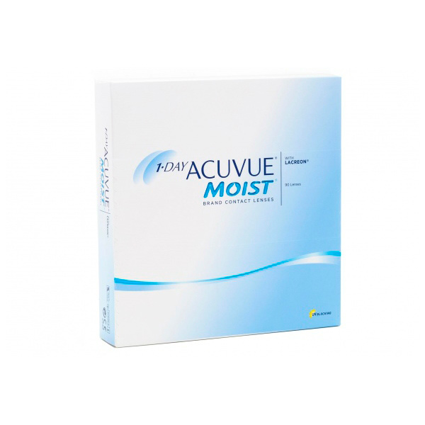 Контактные линзы Johnson & 1-Day Acuvue Moist (90 линз / 8.5 -4.5)