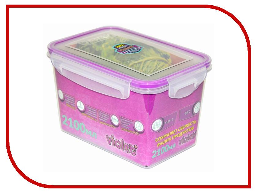 Контейнер Виолет 093/21 2100ml Transparent 4627106338514 чехол для карточек авокадо дк2017 093