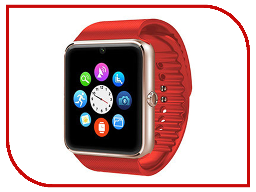 Zakazat.ru: Умные часы Smart Watch GT08 Red